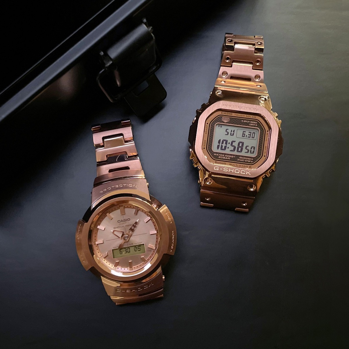 CHARM OF ROSE GOLD