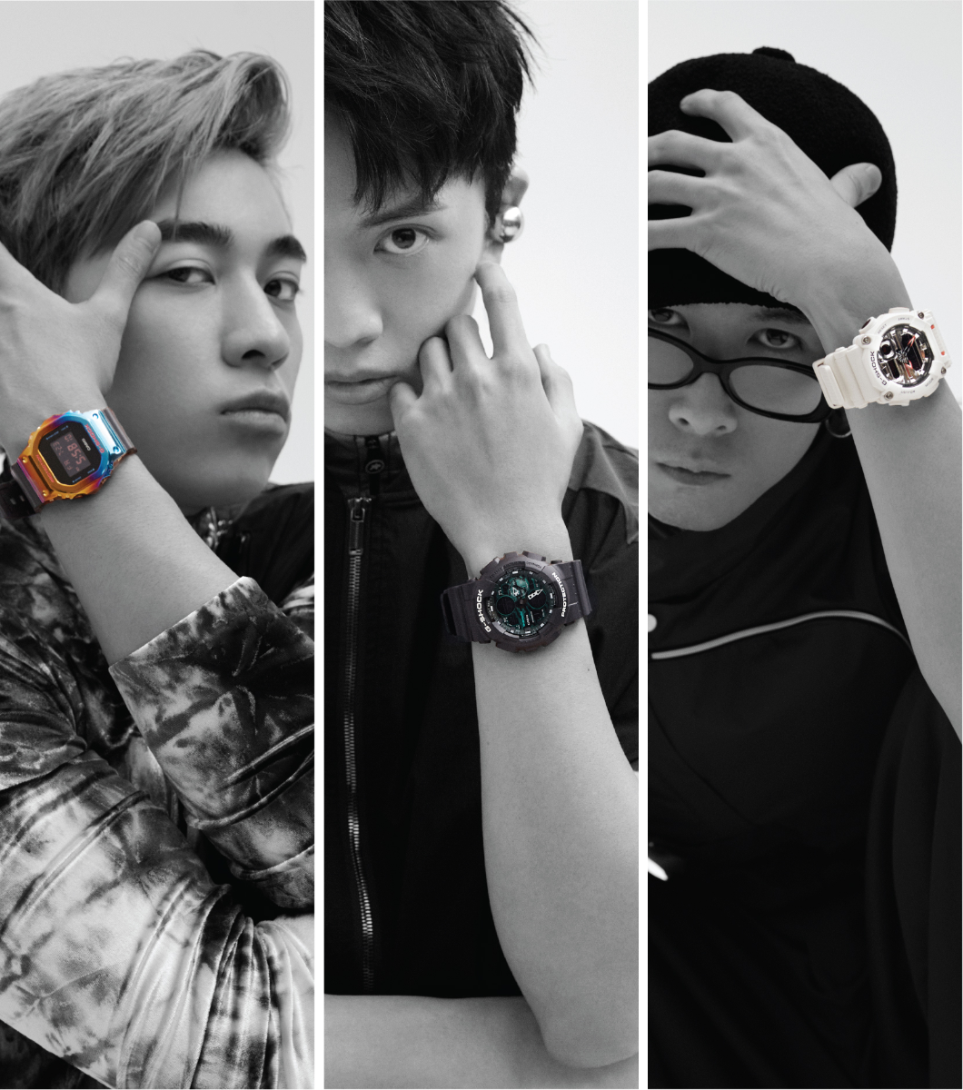 G-SHOCK「時間X時裝」潮流企劃